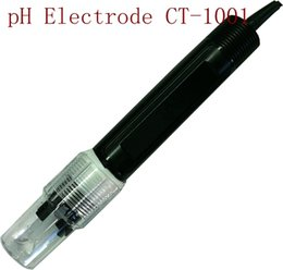 Wholesale Industrial Industry - Industrial pH Electrode PH Sensor CT-1001 0-50 Degree PH Range:0-14 for PTFE liquid Interface Factory Industry Experiment