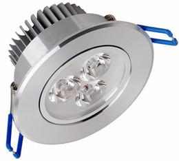 Rgb led spot light 9w online-2 Unids 9W 12W 15W AC85V-265V 110V / 220V LED Downlight empotrado en el techo Lámpara de pared LED Spot Spot con controlador de LED para la iluminación del hogar