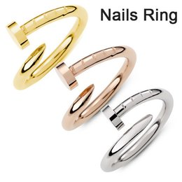 "Wholesale Nail Plates China - HOT Fine copper Screw nail Finger Ring Fashion star models of style Korean drama ""You come from the stars"""
