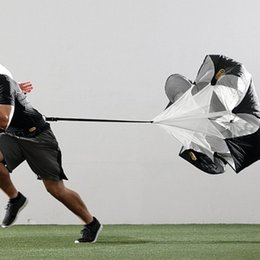 Wholesale Speed Training Resistance Parachute equipment football training umbrella sports equipment running umbrella Outdoor Supplies