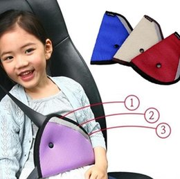 Wholesale Car Seats For Children - Child Seat Belt Adjuster Car Safety Cover Strap Adjuster Pad Harness Comfortable Protection for Children Keep Belt Away From Neck and Face