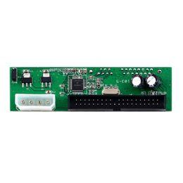 Adaptador sata dvd on-line-PATA IDE PARA SATA Conversor Adapter Card PlugPlay 7 + 15 Pin 3.5 / 2.5 SATA HDD DVD