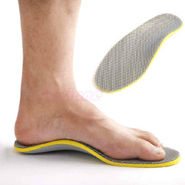 Wholesale Insoles Pads For Shoes - 3D Premium Comfortable Orthotics flat foot Insole TPU Orthopedic Insoles for Shoes insert Arch Support pad for plantar fasciitis