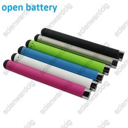 Wholesale Best Adjustable Ecig Battery - 510 ecig open battery colorfull 510 o pen batteries best offer vape pen starter kits o pen vape batteries bud touch o pen vape