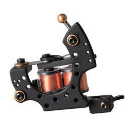 Wholesale Machine Gun Handmade - New Tattoo Machine Handmade Taty Coil Gun 10 Wraps Supplies MZZ270