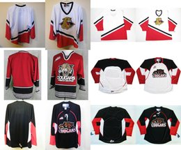 Wholesale Kids Prince - Mens Womens Kids WHL Prince George Cougars White Red Black 100% Stitched Hockey Jerseys S-6XL Goalit Cut Custom Any name Any NO.Jerseys