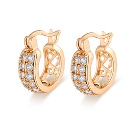 Wholesale Moon Clips - Most fashion desing Hollow Star Moon U shape Super Blingbling Clip hoop Earrings jewelry for girls for young ladys ER-200