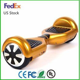 Wholesale Black White Warehouse - US Warehouse 6.5 Inch hoverboard LED Scooter Self Balancing Scooters Smart Balance Wheel Hoverboard Fast Drop Shipping For Sale