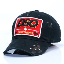 Wholesale European Version - DSQ baseball cap men's Korean version of the trendy duck cap and European style casual sport hat ladies' hat
