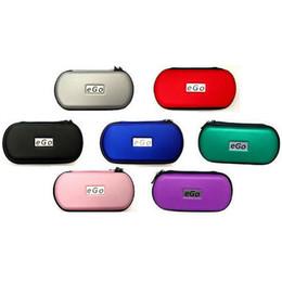 capa de couro mini cigarette Desconto Melhor Ego Zipper Caso Ego Bolsa De Couro Saco de Cigarro Eletrônico Carregar Saco com Multi cores DHL livre
