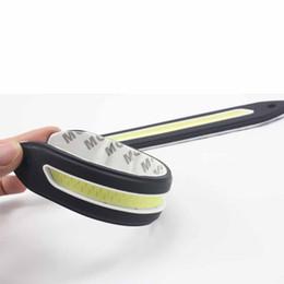 Wholesale Car Timing Light - Universial 2pcs 21cm Bendable led Daytime Running light 100% Waterproof COB Day time Lights flexible LED Car DRL Driving lamp