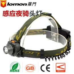 Wholesale Import Cree Lights - Solomon imported CREE lamp light induction lamp headlamp headlamp charging LED hunting factory wholesale