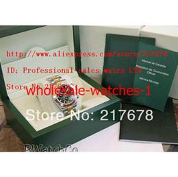 2019 reloj de pulsera corea Con Caja Original Sapphire Black Dial 116523 reloj automático para hombre Relojes sin cronógrafo