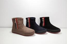 Wholesale Winter Short Thick Heel Shoes - Winter boots 2016 cotton boots cotton shoes thick bottom Martin boots women tide boots short female snow boots non-slip
