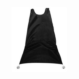 Wholesale Red Beard Man - Wholesale- Household Cleaning Protection Man Pongee Beard Care Shave Apron Bib Trimmer Facial Hair Cape Sink Black Shaving Clean Tool