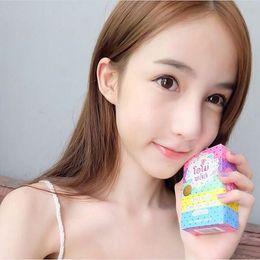 Wholesale Original Soap - HOT SELLING 2016 Original OMO White Plus Soap Mix Color Plus Five Bleached White Skin 100% Gluta Rainbow Soap