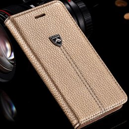 Wholesale I Phone Leather Wallet - FLOVEME Vogue Noble Flip Leather Case For Apple iphone 6 6S 4.7inch Luxury Wallet Stand Insert Card Slot Phone Cover i 6 Smaller