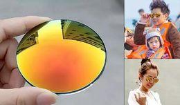 Wholesale Red Polycarbonate Lenses - 3016 Mens Womens Designer Sunglasses Semi Rimless Sun Glasses Gold Frame Green Glass Lenses 51mm With Brown Case