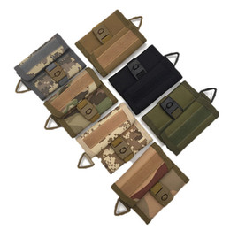 Wholesale Tennis Equipment Wholesalers - New outdoor running sports multi-purpose tactical wallets card bags key bag tactical equipment casual pockets small purse for sale