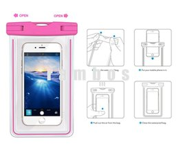 Wholesale Smartphone Grand - 2016 New Waterproof Case Swimming Cell Phone Dry Bag Luminous Smartphone Pouch for samsung galaxy grand prime