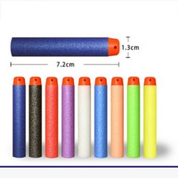Wholesale Dart Gun Toys For Children - 50 Pcs 7.2cm EVA Toy Bullets for Retaliator Series Blasters Refill Clip Darts for Children Toy Gun Accessories Kids Gift