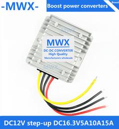 Elevar el convertidor online-12V a 16.3V, convertidor de refuerzo de CC / CC, módulo de 12V elevador de 16.3V, convertidor de energía para autos a prueba de agua, giro de 12v a 16.3V, fabricantes al por mayor
