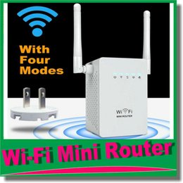 Wholesale Ap Repeater Mode - Mini Wi-Fi Range Extender with Four Modes,wifi Repeater Supports Router,AP,repeater and WISP Mode Backward Compatible with 802.11b g OM-CI7