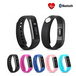 Wholesale Heart Rate Monitor For Iphone - ID115 HR Smart Wristband Heart Rate Monitor Fitness Bracelet Alarm Clock Smart Band Waterproof for iphone Android phone