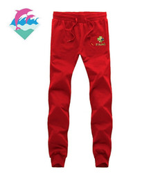 Wholesale Field Full - New fashion men's casual pants jogging pants jogging: pink dolphin pants sarouel pants for track and field running