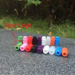 Индивидуальные капельницы онлайн-Оптовые силиконовые наконечники для капель одноразовые резиновые наконечники с коротким наконечником для капель Asprie Cartridge Индивидуальные упакованные крышки для тестеров