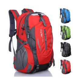 Wholesale Outdoor Back Packs - New Waterproof Nylon Hiking Backpack Outdoor Sports Bag Rucksack Mountaineering Bag Men's Travel Bags Back pack