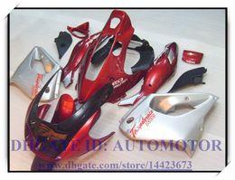Carenado yzf 1997 online-Nuevo kit de carenado ABS para YAMAHA YZF 1000R 1996-2007 YZF1000R 1996-2007 1997 1998 1999 2000 YZF1000R 96-07 # WX735 RED SILVER