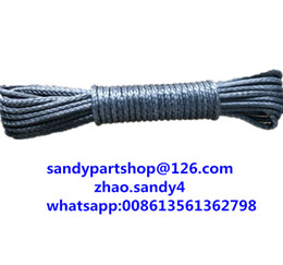 Wholesale Electric Rope - Wholesale-free shipping 5mm*15m for winch line,winch ropes for small electric winches,kevlar rope for accessaries