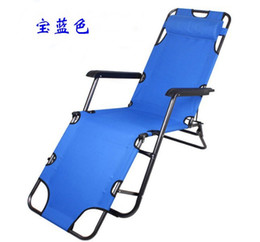 Wholesale Folding Lounge - Manufacturers selling beach chair Folding leisure chair lounge dual-purpose balcony chair folding bed accompany lunch