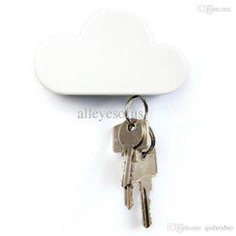 Wholesale Cloud Suck - Wholesale-Cloud Shape Magnets Key Holder Suck Rack Magnetic Hanger Creative Creative Home #51361