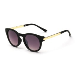 Wholesale Belle Men - 2016 High Quality Women Brand Vintage Cat Eye Sunglasses Round Mercury Gray Gradient Sun Glasses BELLE VERSE