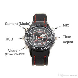 Wholesale Spy Wrist Watches - 1pcs New mini camera 2015 Electric 8GB Hidden Mini DV DVR SPY Camera Camcorder Video Recorder 720*480 P Pocket Wrist Watch