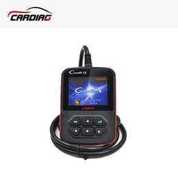Wholesale Creader X431 - Original Launch X431 Creader 7S OBD Code Reader with Oil Reset Function Creader 7 Plus Update Via Official Website Free Shipping