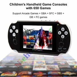 Wholesale Out Camera - PAP Gameta II Plus 4GB HDMI 64Bit Built-In 650 Games MP4 MP5 Video Game Consoles Portable Handheld Game Player TV Out Camera E-Book PVP Pxp3