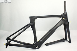 Wholesale Bicycle Bike Clamps Fork Frame - Full carbon road frame carbon frame China chinese bicycle frame seatpost+fork+seatpost clamp with fast shipping!