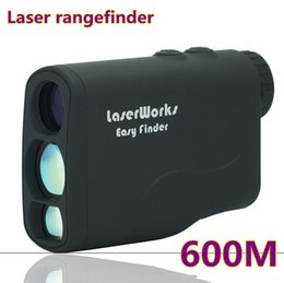 Wholesale Laser Meter Distance - Wholesale-Handheld Laser rangefinder 600m laser range finder hunting golf rangefinders measure laser distance meter speed tester Telescope