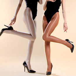 Wholesale Super Deals - Wholesale-SUPER DEAL! 70 Denier Women's soho dance tights Girls shinning shaping pantyhose Line crotch reinforced and durable High