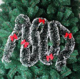 2019 fitas para decorações de árvore de natal Guirlanda de pinho feliz natal decoração da árvore de natal tira decoração guirlanda de natal fita de natal decoração frete grátis CR002 fitas para decorações de árvore de natal barato