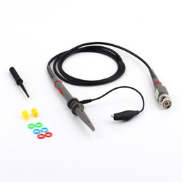 Wholesale Wholesale Oscilloscope - P6100 Oscilloscope Probe DC-100MHz Scope Clip Probe 100MHz For Tektronix HP 1:1 10:1 BNC
