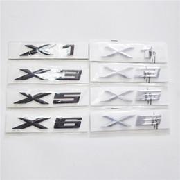 Canada Nouveau logo anglais Autocollants de voiture pour BMW X Série X1 X3 X5 X6 Autocollants de voiture pour BMW 1 3 5 7 Offre