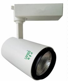 2019 iluminación de la tienda fría proyector llevó la pista comercial llevada pista 20w color blanco cuerpo dos años de garantía envío gratis
