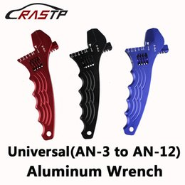 Wholesale An12 Hose - RASTP-Adjustable AN Aluminum Wrench HOSE Fitting Tool Aluminum Spanner Double Fuction AN3-AN12