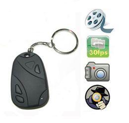 Wholesale Dvr Webcam - MINI SPY CAR KEY HIDDEN CAMERA 808 KeyChain Digital CAM Chain DV DVR WebCam Camcorder Video Recorder