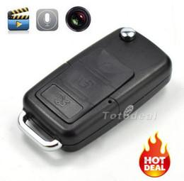 Wholesale Car Key Camera Motion - Mini camera DVR Mini camcorder car key Spy Camera HD DVR Motion Detect Camera Hidden Camera vedio recorder 720p wholesale