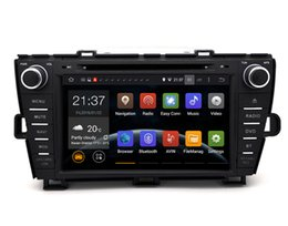 "Wholesale Android Mp4 Video - HD 8inch"" Capacitive Screen Android 6.0 Car DVD GPS For Toyota Prius 2009-2013"